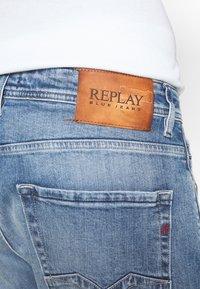 Replay - ROCCO - Straight leg jeans - light blue - 4