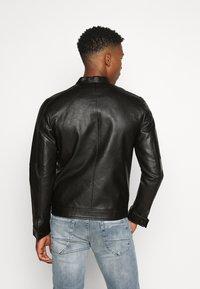 Jack & Jones PREMIUM - JPRBLUMAX JACKET - Faux leather jacket - black - 2