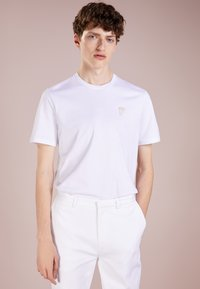 Versace Collection - T-shirt - bas - bianco/oro - 0