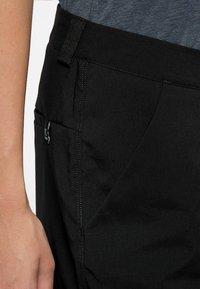 Haglöfs - MID SOLID SHORTS - Outdoor shorts - true black - 3