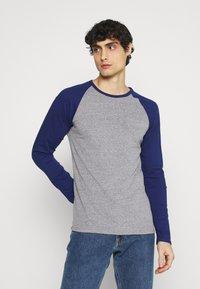 Pier One - Long sleeved top - mottled grey - 0