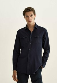 Massimo Dutti - Shirt - dark blue - 0