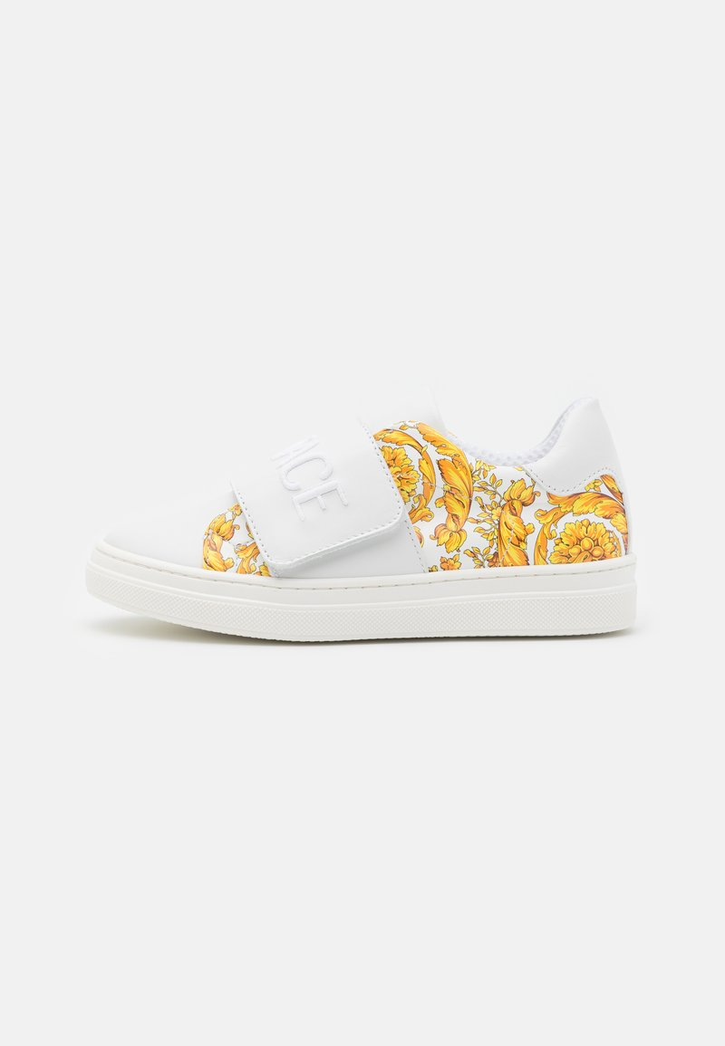 Versace - Trainers - white/gold