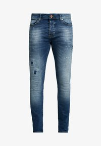Cars Jeans - ARON - Jeansy Skinny Fit - dark used - 4