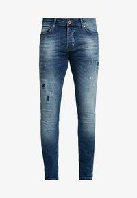ARON - Jeansy Skinny Fit - dark used