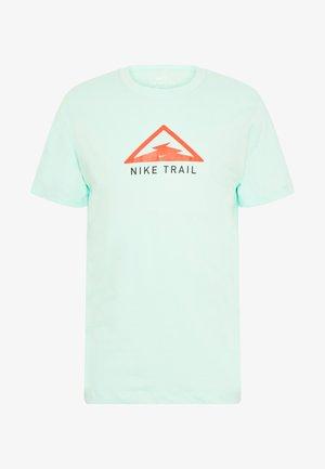 DRY TEE TRAIL - Triko spotiskem - mint foam