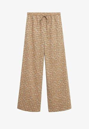 Kalhoty - open beige