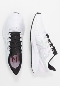 Nike Performance - AIR ZOOM PEGASUS - Neutral running shoes - white/iced lilac/black/pistachio frost/noble red - 1