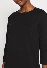 Vero Moda - VMEVA 3/4 SLEEVE SHORT DRESS - Jumper dress - black - 5