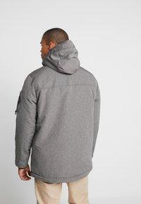 Hollister Co. - Parka - cationic grey print - 3