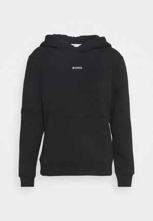 MILLA HOOD - Sweater - black beauty