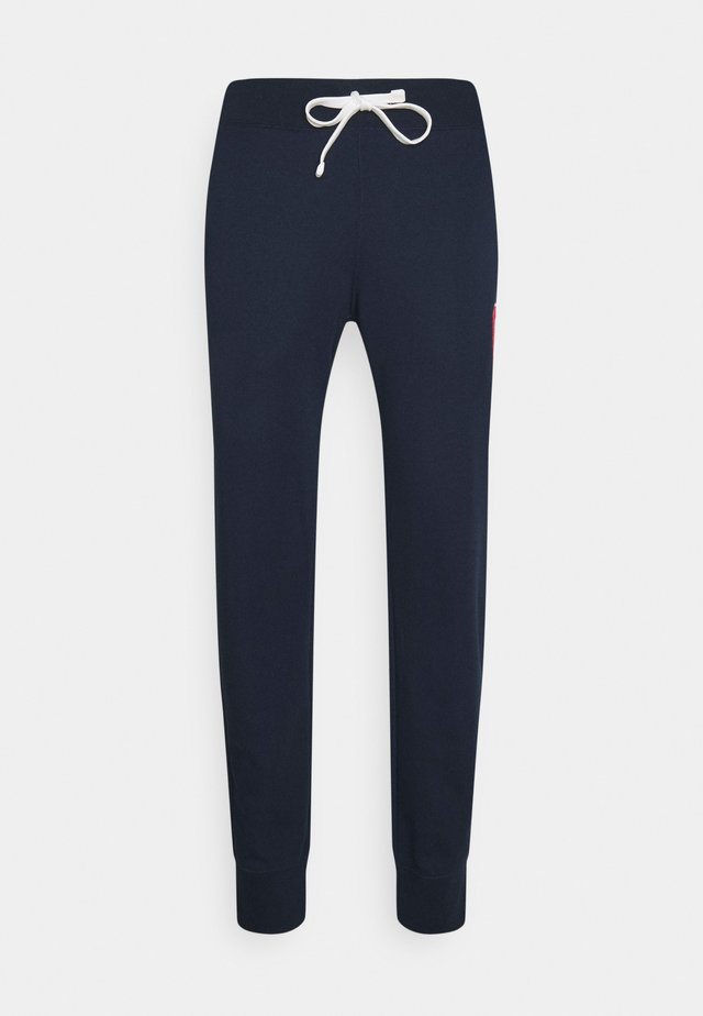 CUFF PANTS - Trainingsbroek - dark blue
