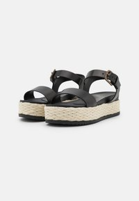 Marc O'Polo - ILARIA  - Platform sandals - black - 2
