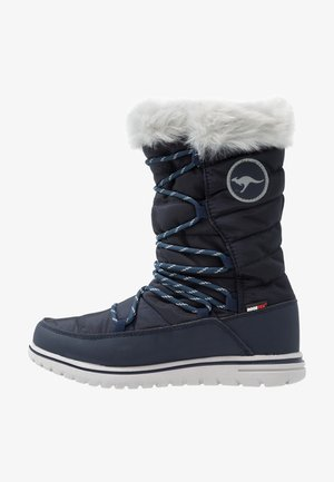 WOWI HUN - Zimní obuv - dark navy/vapor grey