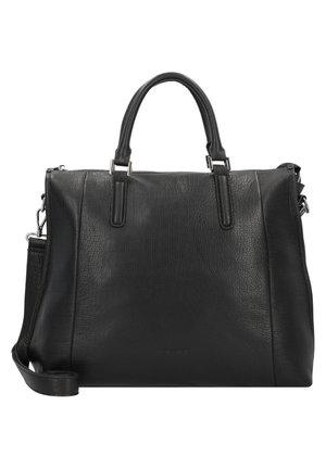 MEGGY HANDTASCHE LEDER 37 CM - Handtasche - black