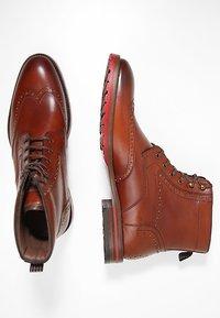 Floris van Bommel - ROSSI - Lace-up ankle boots - dark cognac - 1