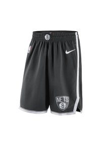 Nike Performance - BROOKLYN NETS ICON EDITION SWINGMAN NIKE NBA-SHORTS FÜR HERREN - Short de sport - black/white - 0