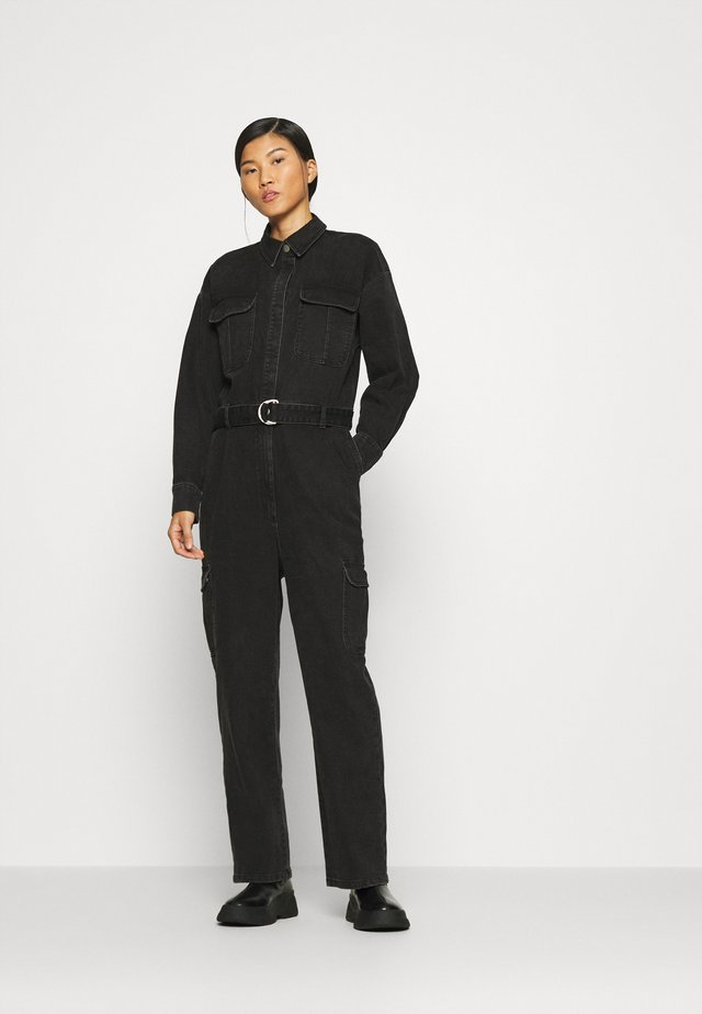 SOFY - Tuta jumpsuit - washed black