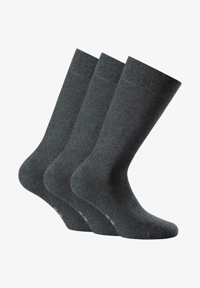 3 PACK - Socks - anthrazit