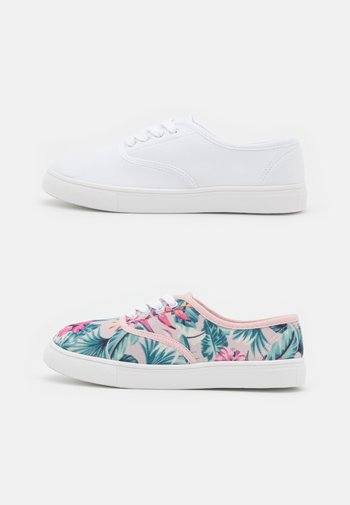 2 PACK - Sneakers basse - white/multicoloured