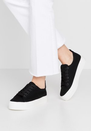 IYLA LACE UP - Sneakers laag - black