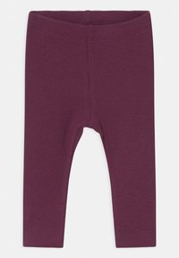 Name it - NBFROSEMARIE 3 PACK - Legging - shadow/italian plum/deauville - 2