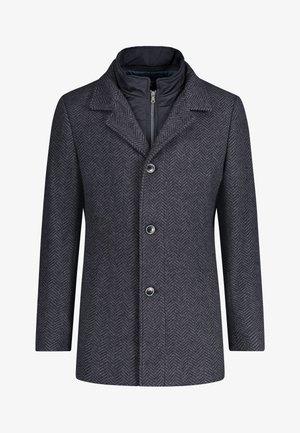 Classic coat - midnight/charcoal