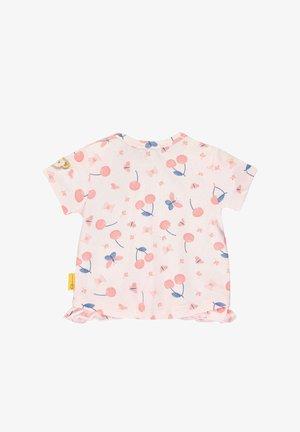 STEIFF COLLECTION T-SHIRT MIT RÜSCHEN - Print T-shirt - barely pink