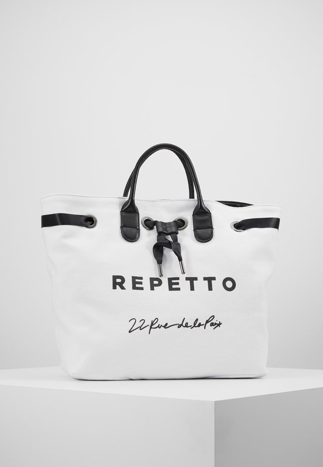 NOE ARABESQUE - Handbag - noir/blanc