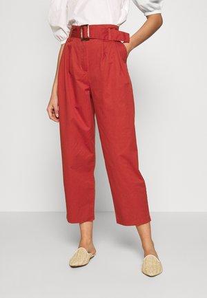 OBJWELA PANT - Trousers - tandori spice