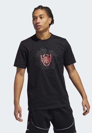D.O.N. ISSUE #2 SENSE LOGO T-SHIRT - Print T-shirt - black