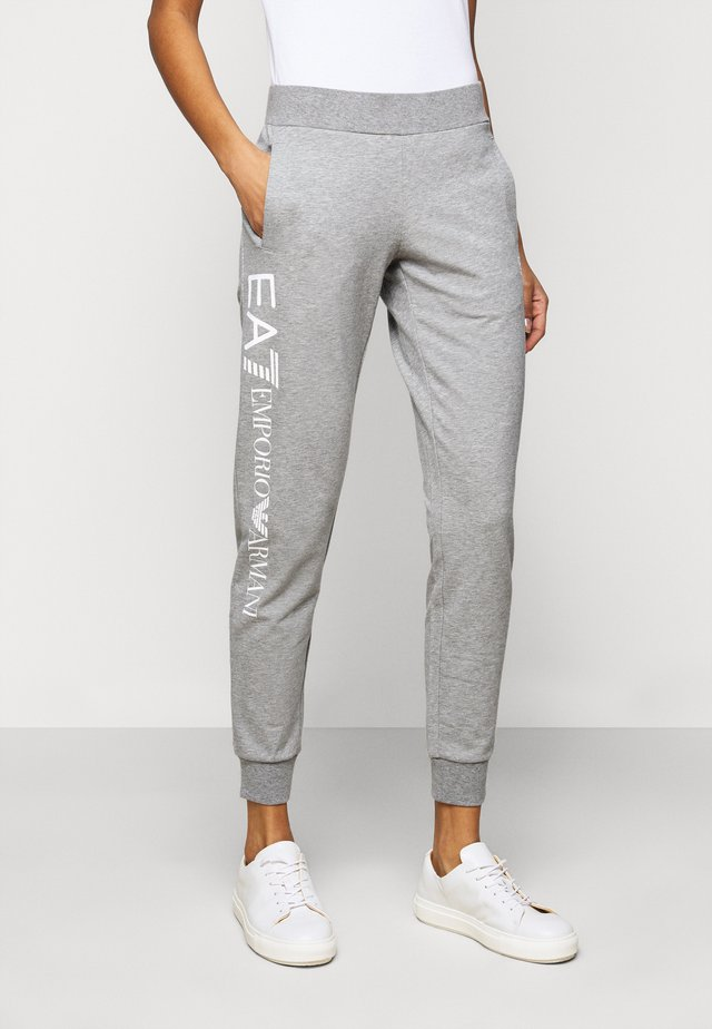 TROUSER - Trainingsbroek - grey med melange