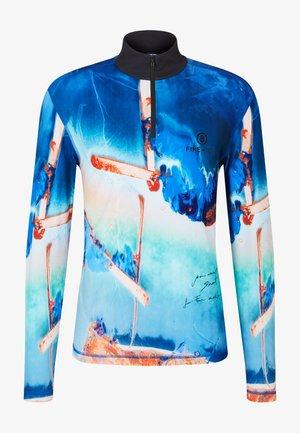 LAYER - T-shirt à manches longues - blau/multicolour