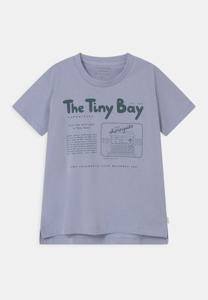 TINY BAY GRAPHIC  UNISEX - T-shirt z nadrukiem - grey