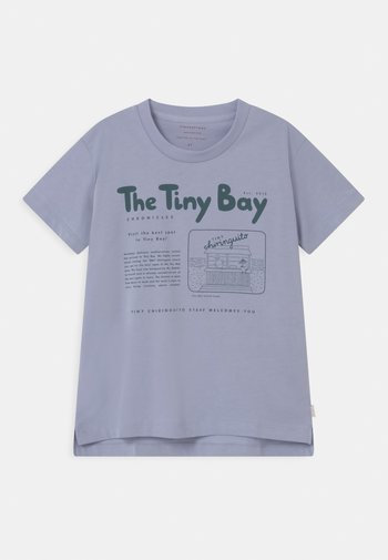 TINY BAY GRAPHIC  UNISEX - Camiseta estampada - grey