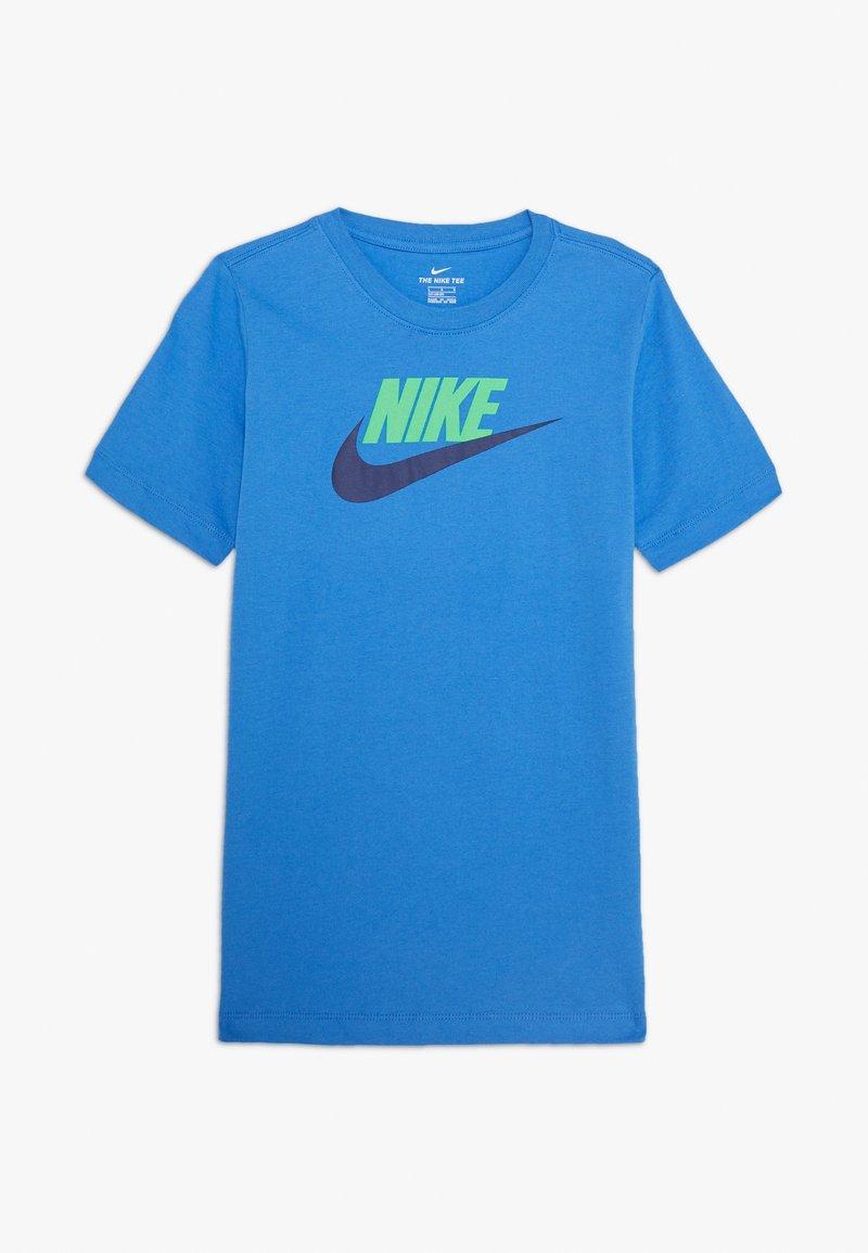 Nike Sportswear - FUTURA ICON - T-shirt con stampa - pacific blue