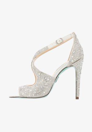 SAGE - High heeled sandals - ivory