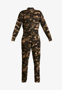 ONLY - ONLRAMBO BOILER JUMPSUIT  - Jumpsuit - indian tan - 4