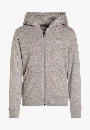 ZIP THRU GIRLS - Zip-up hoodie - grey marl