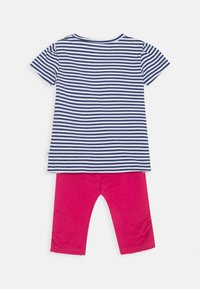 Staccato - BABY SET - Leggings - Trousers - dark blue/pink - 1