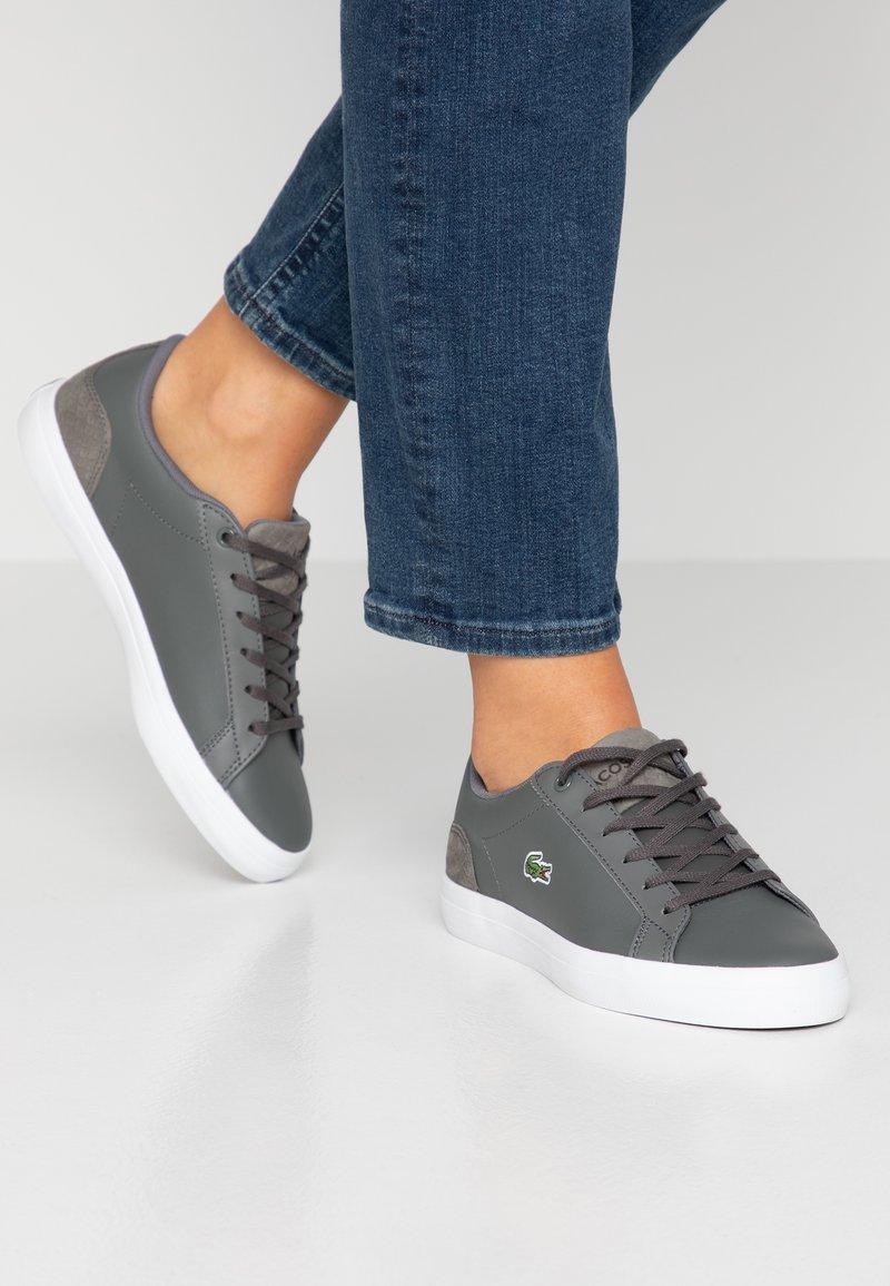 Lacoste - LEROND  - Sneaker low - dark grey/white