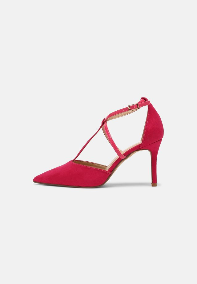 WIDE FIT DAINTY COURT - Klassiske pumps - pink