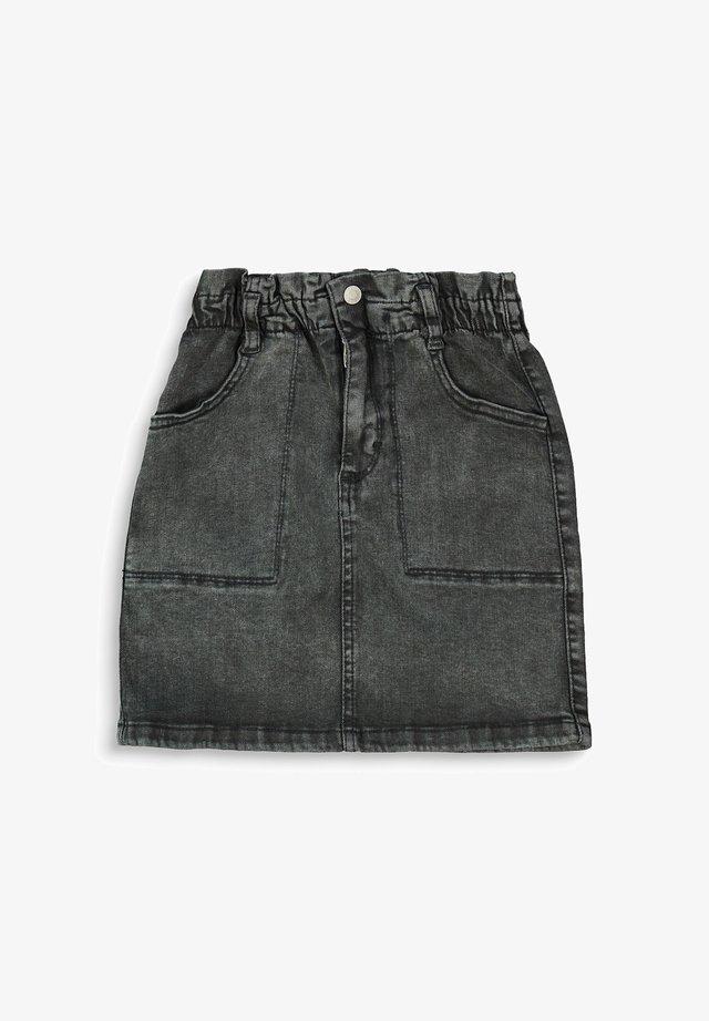 Jeansrok - grey dark washed