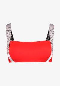 Calvin Klein Swimwear - INTENSE POWER STRAP BANDEAU - Bikini top - fiery red - 3