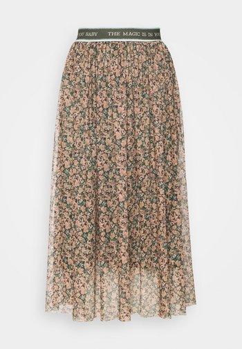 SKIRT PRINTED - A-line skirt - multi-coloured