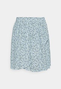 Moss Copenhagen - FADEA JALINA SKIRT - A-line skirt - blue - 3