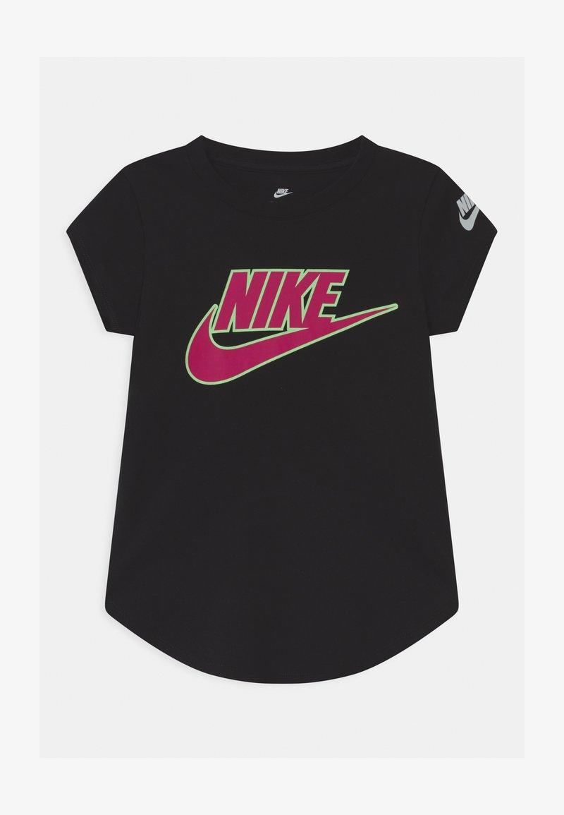 Nike Sportswear - GLOW IN THE DARK FUTURA - Triko spotiskem - black