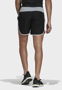 adidas Performance - Marathon 20 SHORT RESPONSE AEROREADY RUNNING REGULAR SHORTS - Träningsshorts - black - 2