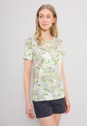 MIRISSA - Print T-shirt - white, green