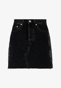 Levi's® - DECON ICONIC SKIRT - A-snit nederdel/ A-formede nederdele - black denim - 4